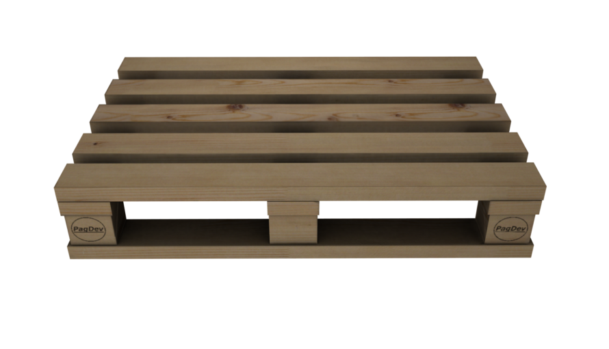 WoodenPallet 3D Model